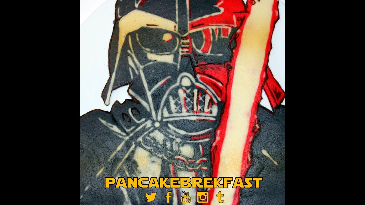how to make star wars pancakes