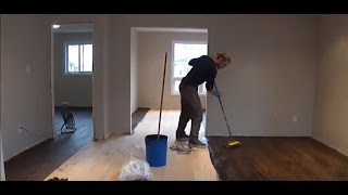 AF Wood Floors Installing, Sanding and Staining a Hardwood Floor