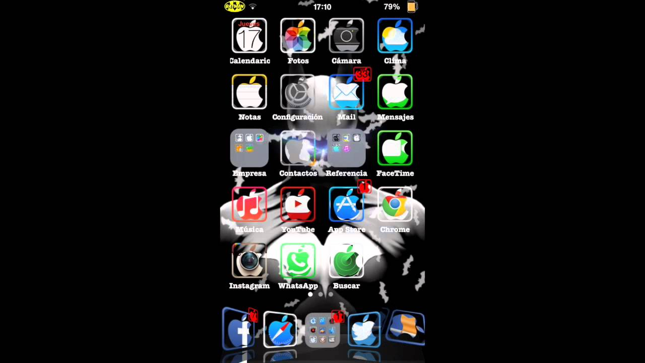 BatMan(S) for Live Wallpaper, LiveWallpaper - iOS 5, 6 y 7 tweak de Cydia - YouTube