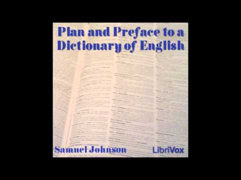 Plan and Preface to a Dictionary of English by Samuel Johnson (FULL Audiobook)