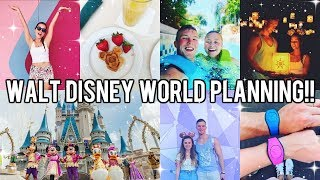 WALT DISNEY WORLD BOOKING & PLANNING!! EVERYTHING YOU NEED TO KNOW!!