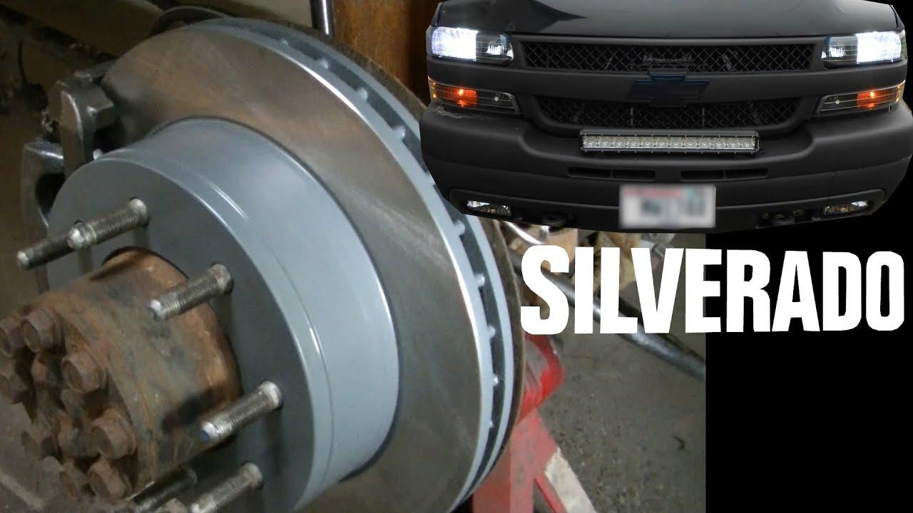silverado 2500hd rear brakes replacement tips [ 1280 x 720 Pixel ]