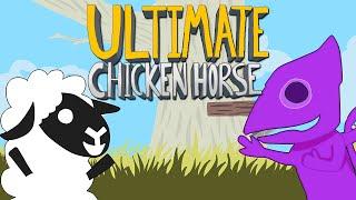 Ultimate Chicken Horse - САМЫЙ СТРЕМНЫЙ ЛЕВЕЛ!