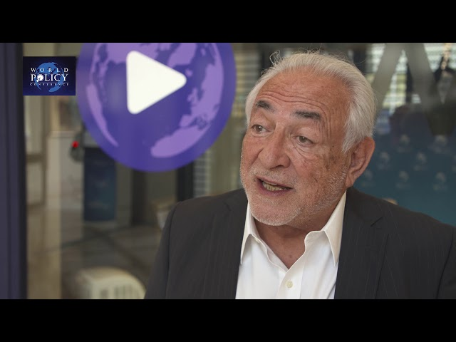 WPC 2019 - Dominique Strauss-Kahn
