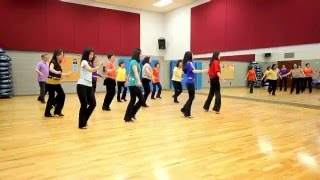 Die A Happy Man - Line Dance (Dance & Teach in English & 中文)
