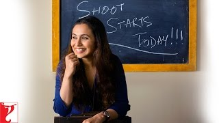 Hichki - Shoot Begins (04 April 2017) | Rani Mukerji