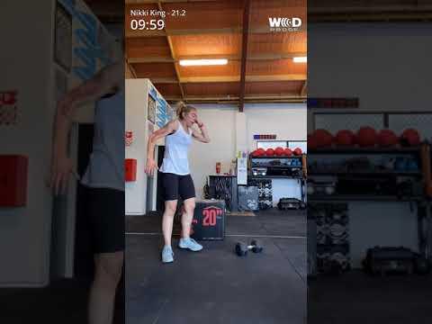 WOD 21.1 CrossFit Games Open