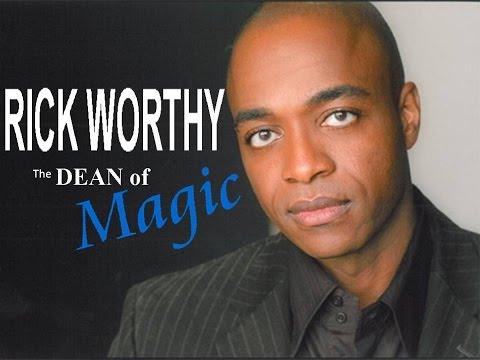 Rick Worthy. The Dean of Magic
