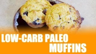 Low-carb Paleo Almond And Coconut Flour Paleo Muffin Video Recipe