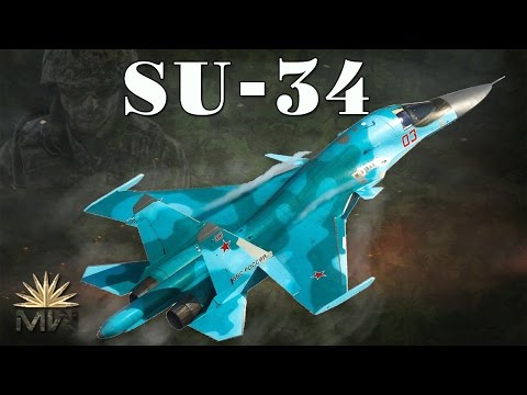 Strike Fighter Sukhoi Su-34 - Russian Air Force [Review]