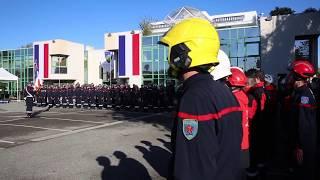 Sainte Barbe : hommage aux sapeurs pompiers SDIS 06