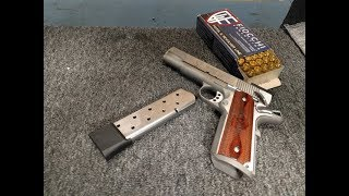 Shooting Checkmate magazine 10 round for 1911 pistol by froggy