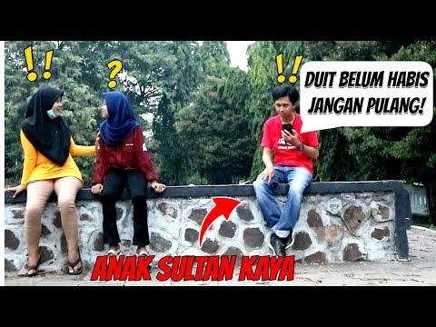 ANAK SULTAN KAYA RAYA (Telponan Sombong) Ft.Ezi Aditya Prank Indonesia
