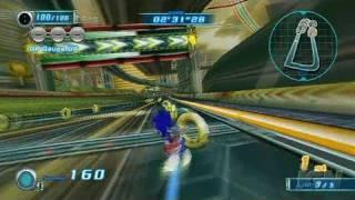 Sonic Riders: Zero Gravity Nintendo Wii Gameplay - Megalo