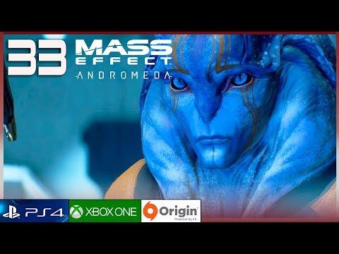"MASS EFFECT ANDROMEDA Gameplay Español Parte 33 (PC Ultra 60FPS) Walkthrough | ""Alianzas en Aya"""