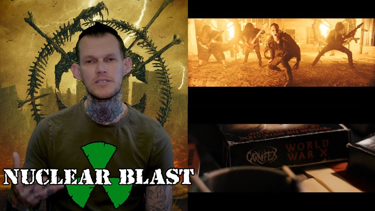 "CARNIFEX — About The Title Track ""World War X"" (OFFICIAL INTERVIEW)"