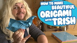 Beautiful Origami with Trish | Tutorial |