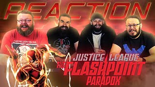 Justice League: The Flashpoint Paradox - MOVIE REACTION!!