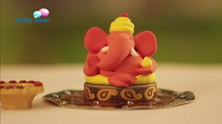 Learn To Make Colourful Ganesh Idol Using Super Dough thumbnail