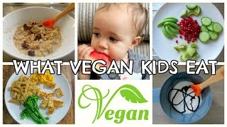 what a vegan baby eats in a day   1yr old
