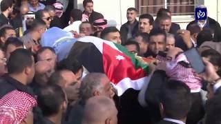 تشييع جثمان الشيخ سلطان العدوان إلى مثواه الأخير في الشونة الجنوبية - (22-12-2018)