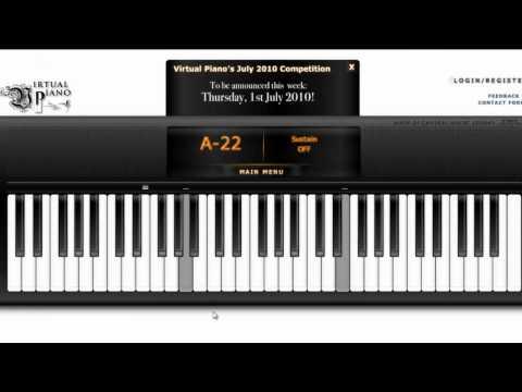 [ Virtual Piano ] Theme From Love Story With Auto Keyborad