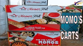 MOMO'S HUT/MOMO'S CART MANUFACTURER IN DELHI#MOMO'S CART MADE BY SAI STRUCTURES INDIA/STREET VENDING