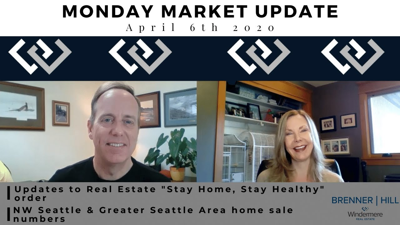 Monday NW Seattle Real Estate Market Update 4.6.20