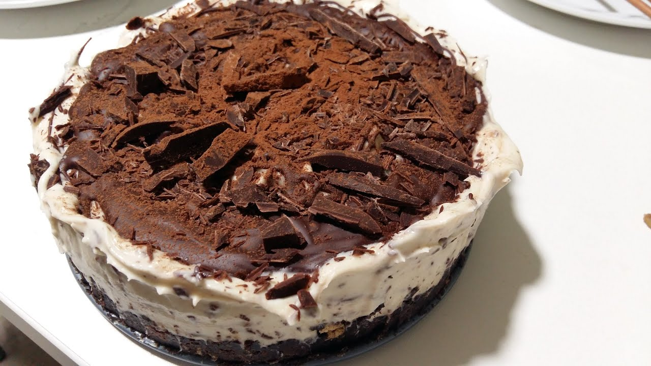 Baileys Kuchen No Bake Baileys Oreo Chocolate Cheesecake