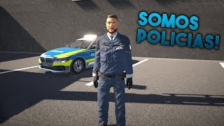 Autobahn Police Simulator 2 - Somos Policías! - Gameplay Español