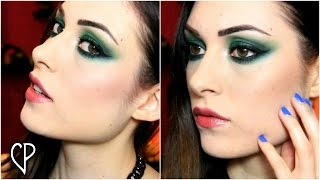 SMOKY EYES VERDE! (feat. Sleek Ultra Matte V2) | CherylPandemonium
