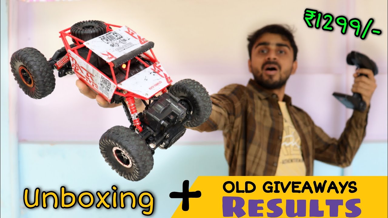 ₹1299 Wala Monster Car/Truck चला के मजा आजाएगा !! Giveaway Result 👈👈 of Stunt Car & Hot Glue Gun