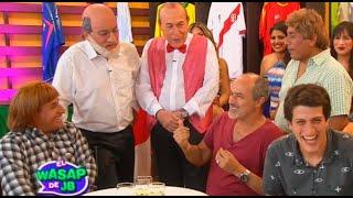 Carlos Alcántara y Stefano Tosso compartieron mesa con el tío Lisuratás y compañía thumbnail