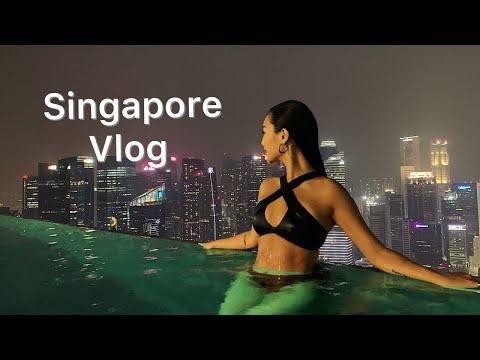 Marina Bay Sands Invited Me !! | 싱가폴 | 파티만 주구장창