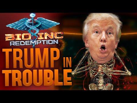 Bio Inc Redemption - Trump in Trouble! - Bio Inc Redemption Donald Trump Easter Egg - Death Gameplay