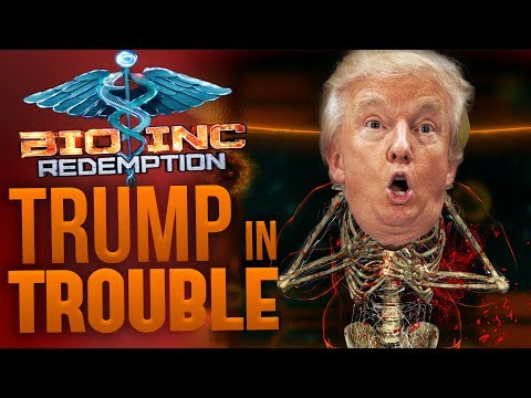 Bio Inc Redemption - Trump in Trouble! - Bio Inc Redemption Donald Trump Easter Egg - Death Gameplay