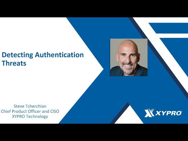 Detecting Authentication Threats