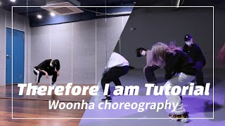 [ dance tutorial ] therefore i am - billie eilish / woonha choreography