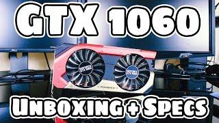 gaiward Phoenix GeForce GTX 1060 - 6gb GS (Распаковка)