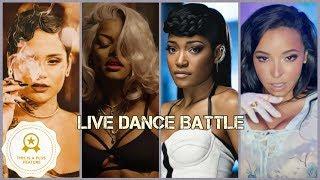 Kehlani vs Teyana Taylor vs Tinashe vs Keke Palmer (Live Dance Battle)