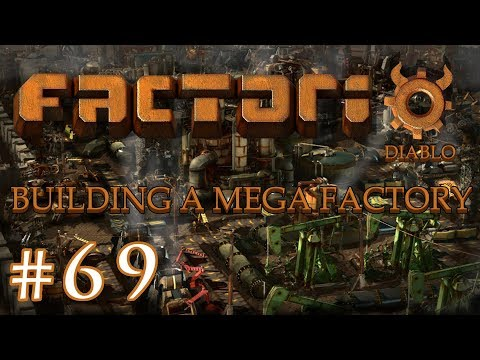 Factorio - Building a Mega Factory: Part 69 updating the iron mine setup