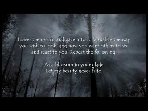 Wiccan Magick Spell - Magick Mirror Beauty Spell - Make Yourself Beautiful