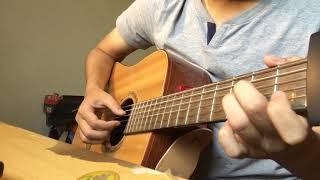 [Hương Tràm] Em gái mưa - guitar cover