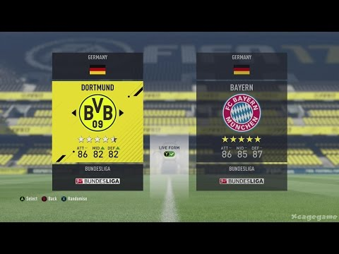 FIFA 17 All Teams & Ratings