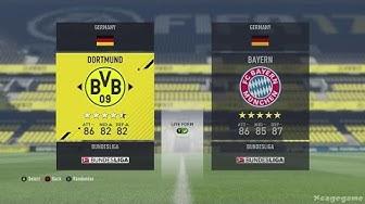 FIFA 17 All Teams & Ratings