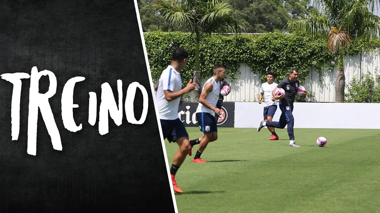 Treino   Posse de bola e transição. Corinthians TV c550276481