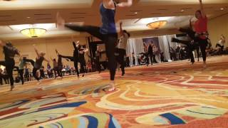 Kristin performing a contemporary combo! TDEA 2017