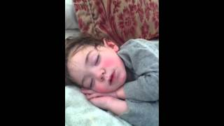 two year old snoring