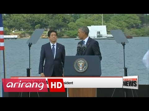 Japanese PM Shinzo Abe makes historic visit to Pearl Harbor