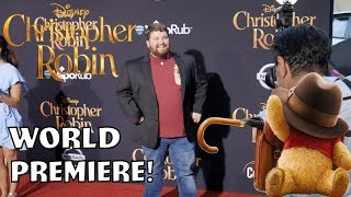 World Premiere of Christopher Robin!!!!